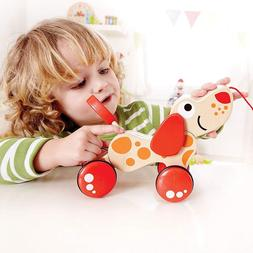 Wooden Pull <font><b>Toy</b></font> Wooden Car Child <font><