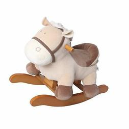 Labebe Child Rocking Horse Toy, Stuffed Animal Rocker Toy, K