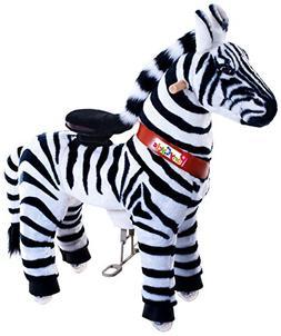 Vroom Rider X PonyCycle Ride-On Zebra